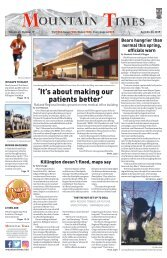 Mountain Times - Volume 48, Number 17: April 24-30, 2019