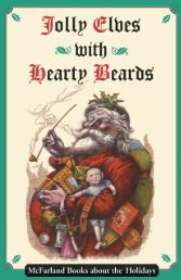 McFarland Books about the Holidays
