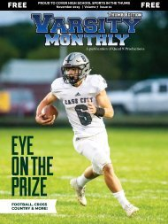 November 2019 Issue of Varsity Monthly Thumb Magazine
