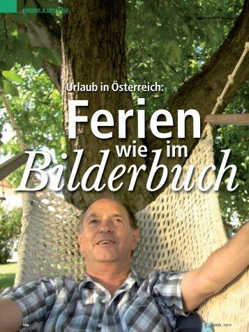 Bilderbuchurlaub in Österreich - Gratis Webserver