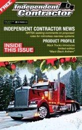 Independent Contractor - December 2019