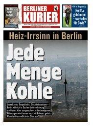 Berliner Kurier 25.11.2019