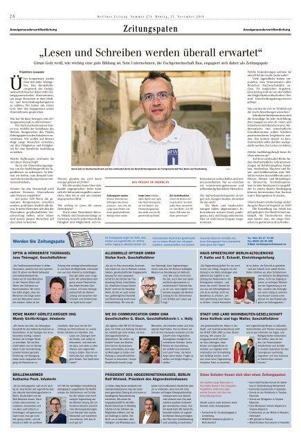 Berliner Zeitung 25.11.2019