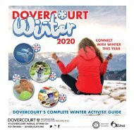 DOVERCOURT Winter 2020 program guide
