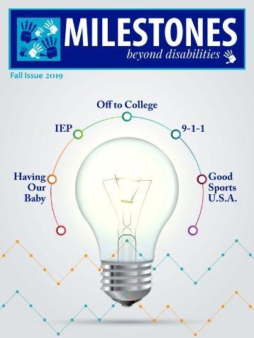Milestones Magazine Fall Issue