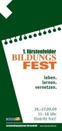 bildungs fest - in Fürstenfeldbruck