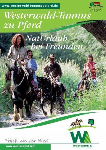 Westerwald-Taunus zu Pferd