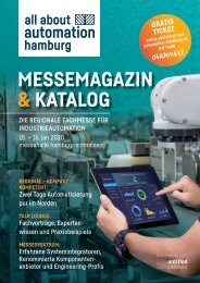 Messemagazin & Katalog | all about automation hamburg