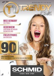 TRENDYone | Das Magazin - Ulm - März 2017