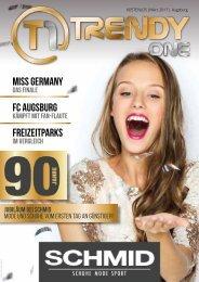TRENDYone | Das Magazin - Augsburg - März 2017