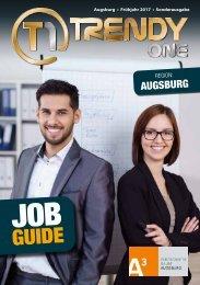 TRENDYone | Job Guide Frühjahr 2017 | Region Augsburg