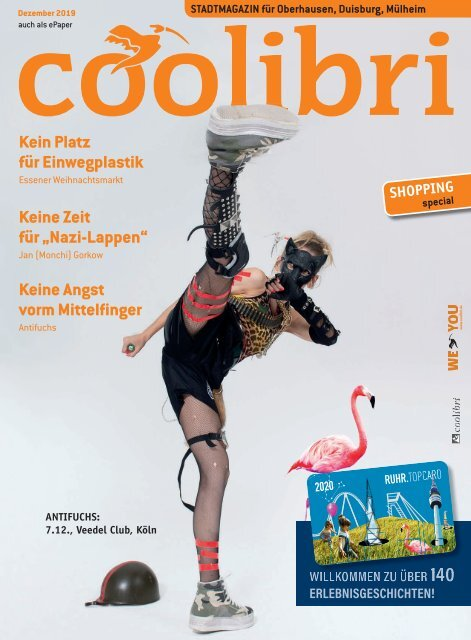 Dezember 2019 coolibri Oberhausen, Duisburg, Mülheim