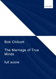 Chilcott The Marriage of True Minds FS