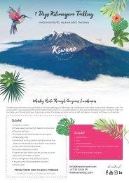 7 days Kilimanjaro Machame trekking