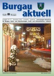 Traumhafte Geschenkideen... - Stadt Burgau