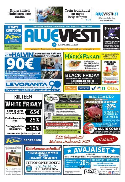 Alueviesti 48 / 2019