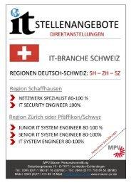 IT-Stellenangebote-Schweiz