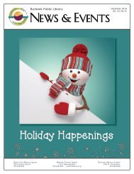 December 2019 Library News and Events