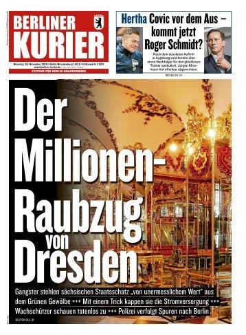 Berliner Kurier 26.11.2019