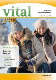vitalplus Haller Tagblatt 2019
