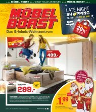 2019/48 - Möbel Borst 27.11. - 30.11.2019
