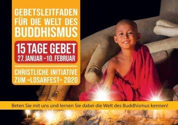 Gebetsleitfaden für die Welt des Buddhismus