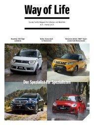 Suzuki Way of Life Magazin Herbst 2019