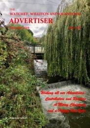 Watchet, Williton and Quantock Advertiser, December 2019