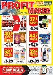 Booker - Profit Maker Scotland