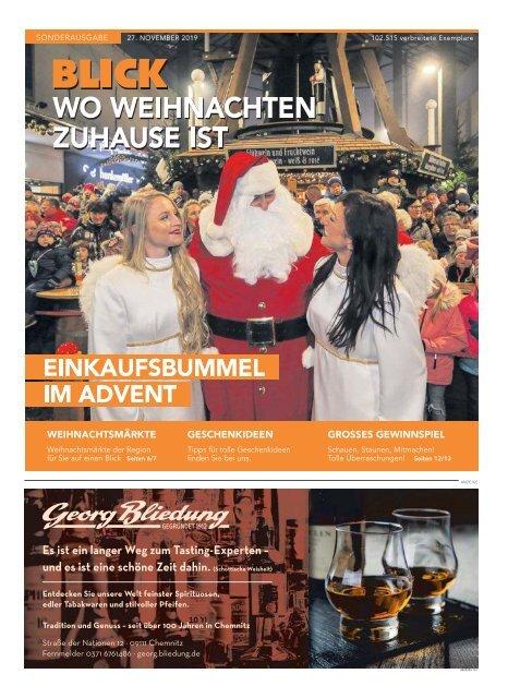 Adventsbeilage Blick Chemnitz - 27.11.2019