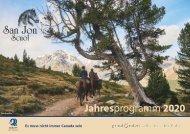 Jahresprogramm San Jon 2020