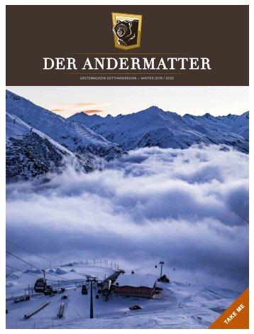 DER ANDERMATTER Winter 2019