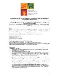 Rückantwort - Deutsches Kuratorium für Therapeutisches Reiten eV