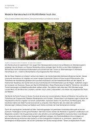 Madeira-Wanderurlaub mit Wohlfuehlfaktor hoch drei