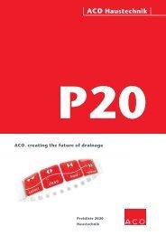ACO Österreich Haustechnik Preisliste 2020 - Gesamt