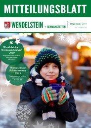 Mitteilungsblatt Wendelstein + Schwanstetten