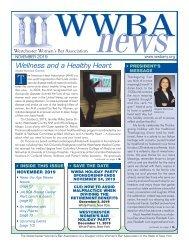 WWBA November 2019 Newsletter