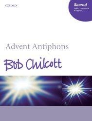 Bob Chilcott Advent Antiphons