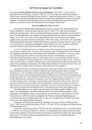 Alt-Wette im Spiegel der Geschichte - Alt-Wette Ortschronik