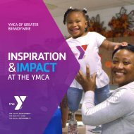 YMCA Inspiration and Impact Report - 2019