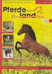 Quelle Zeitschrift Pferde Rheinland-Pfalz - Katrin Obst