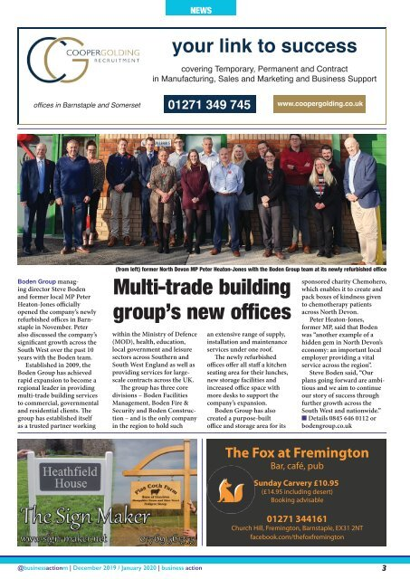 Business Action | December 2019 / January 2020