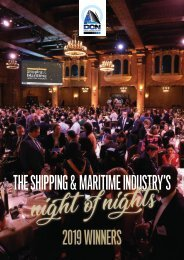 The 2019 DCN Australian Shipping & Maritime Industry Awards Digital Magazine