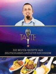 The Taste 2019 - Die besten Rezepte aus Deutschlands größter Kochshow
