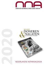 Nederlandse Notarisagenda 2020