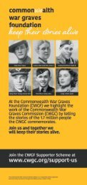The Commonwealth War Graves Foundation