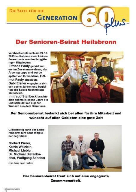 Monatsblatt Heilsbronn - Dezember 2019