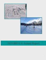 BRVCA Annual Report 2019