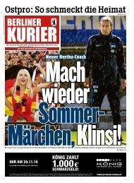 Berliner Kurier 28.11.2019
