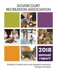 Dovercourt Annual Report 2018